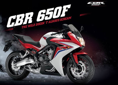2016 Honda CBR650F ABS version