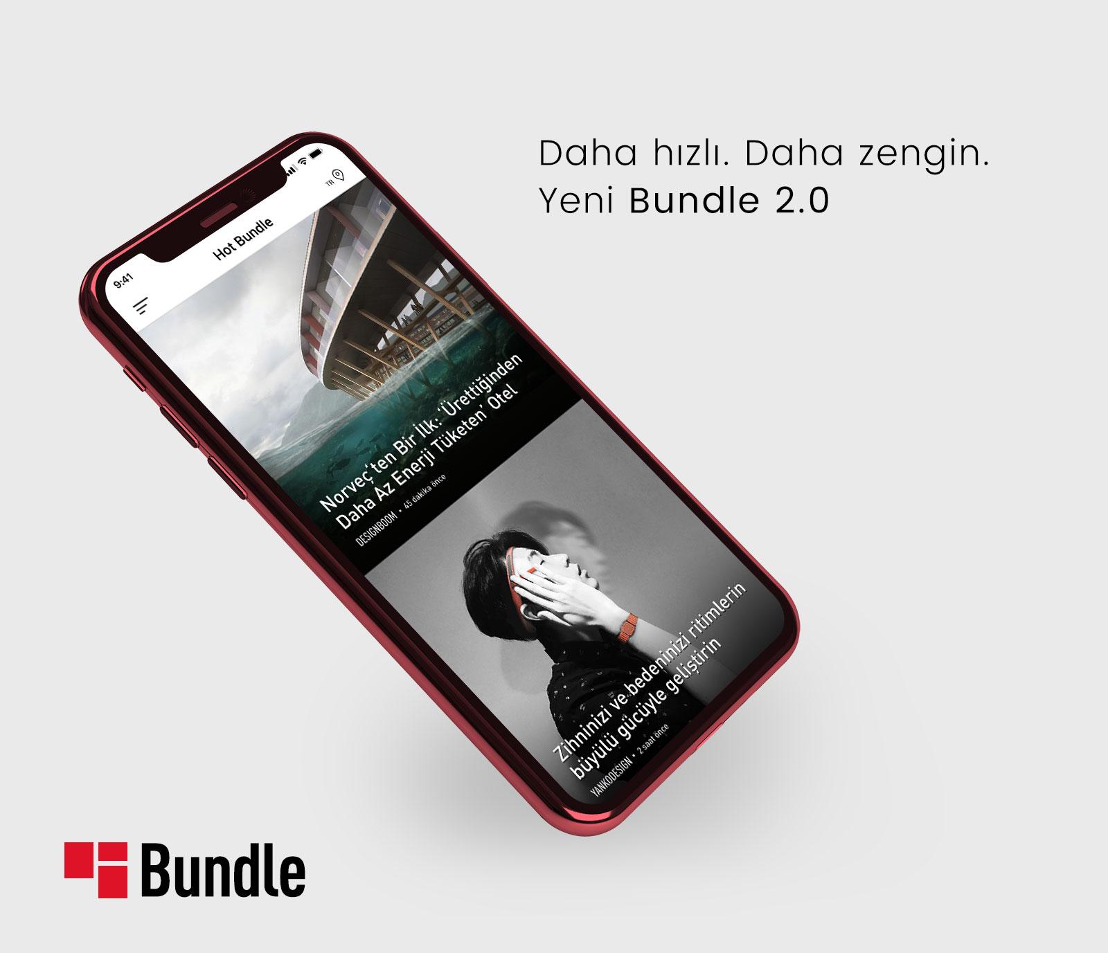 Türkiye'nin En Sevilen Haber Uygulaması Bundle'da Artık Karşı Kafalar'da Var