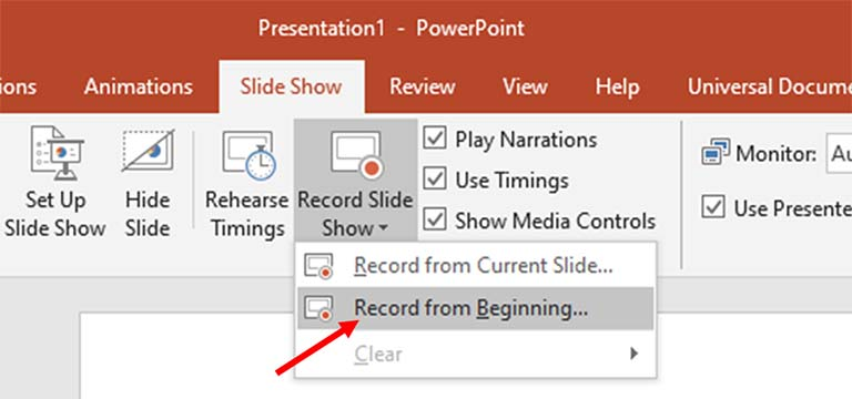 Cara Rekam Narasi Suara Untuk Presentasi Microsoft PowerPoint