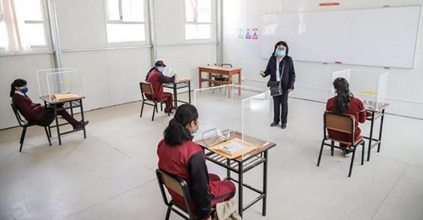 MINEDU: Con el compromiso de todos los maestros, este año escolar será mejor, sostuvo el Ministro de Educación, Ricardo Cuenca