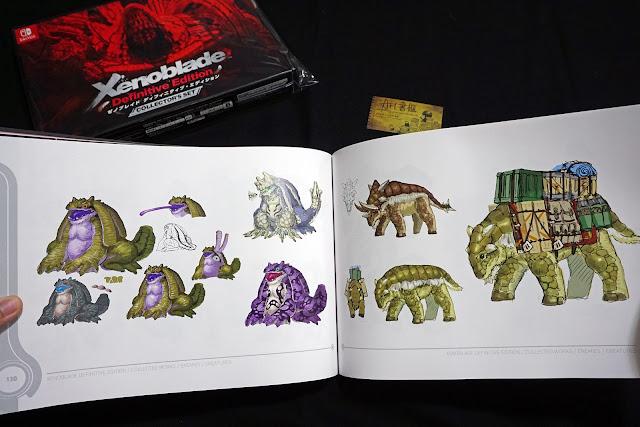 DSC01946 - 異域神劍 異度神劍 終極版 遊戲限定版畫集  ゼノブレイド ディフィニティブ・エディション / Xenoblade Definitive Edition / Xenoblade Chronicles: Definitive Edition