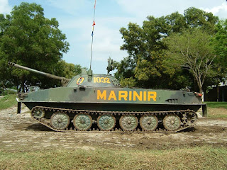 Tank Amfibi PT-76 Marinir TNI AL