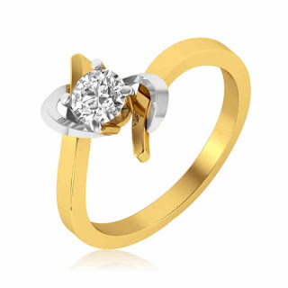 Single Solitaire Diamond Engagement Ring
