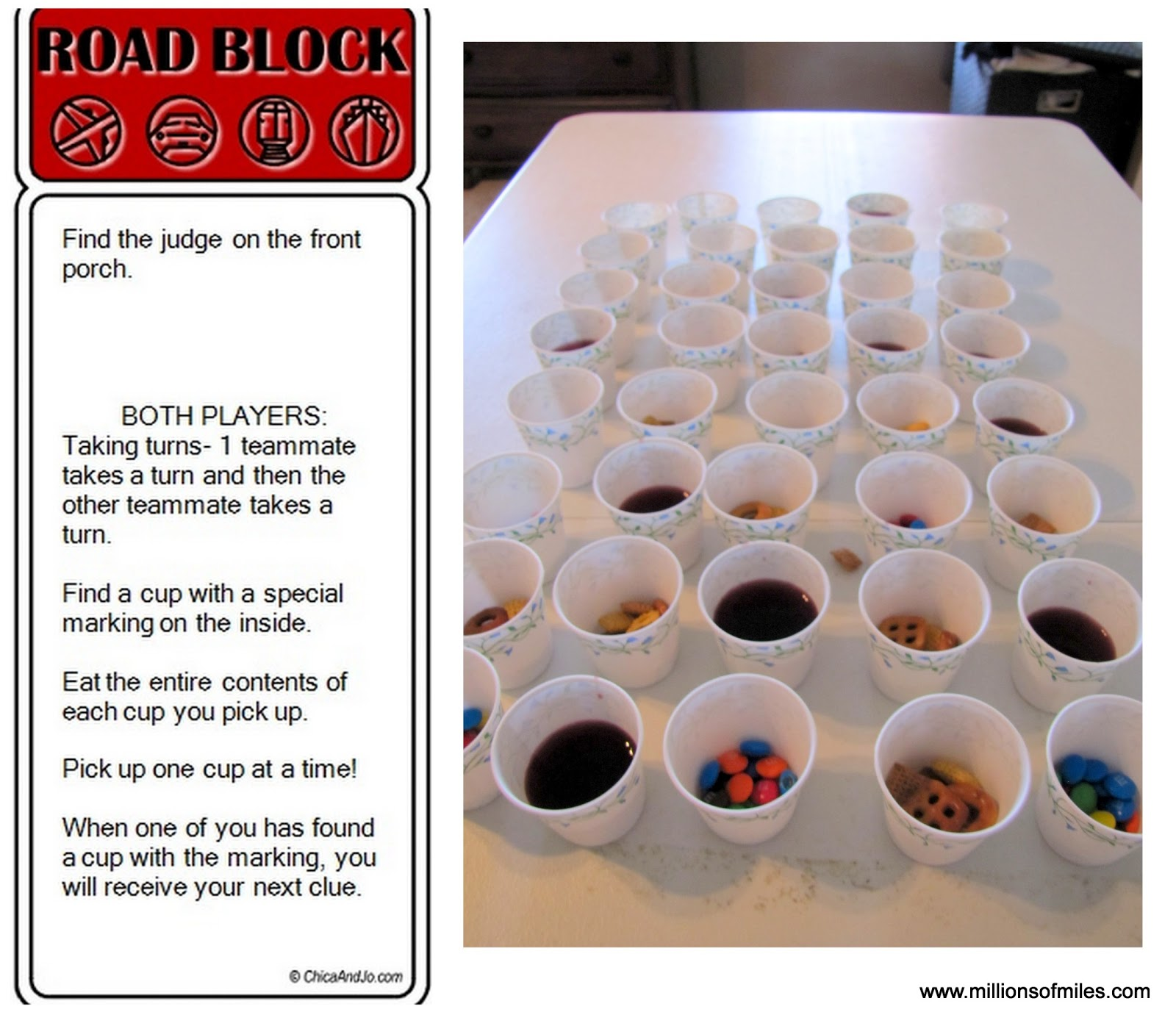 For this task, I took about 50 paper bathroom cups and filled them with  various goodies (just enough to cover the bottom of the cup) About 6 or 7  of the ...