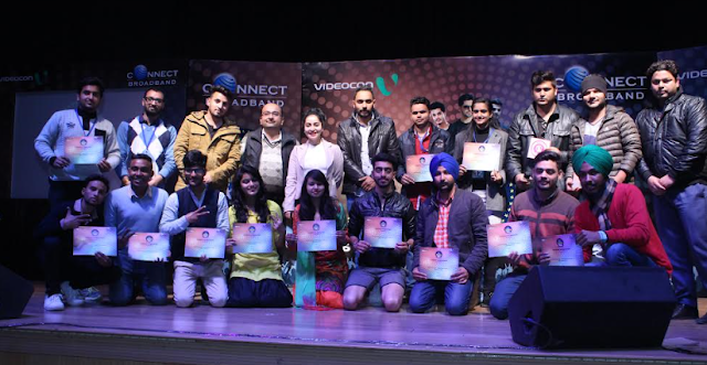 Videocon Connect 'Young Manch 4' City Finale at Ishmeet Singh Music Academy Ludhiana