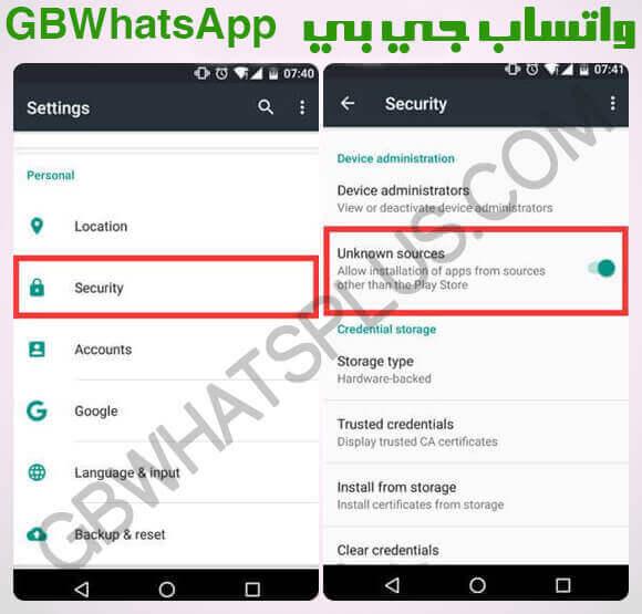 تنزيل جي بي واتساب الاخضر GBWhatsApp APK أحدث إصدار ضد المنع 10.43.0 v 2020