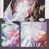 New 52 White Lantern Kyle Rayner sacrifices himself in Lights Out part five.