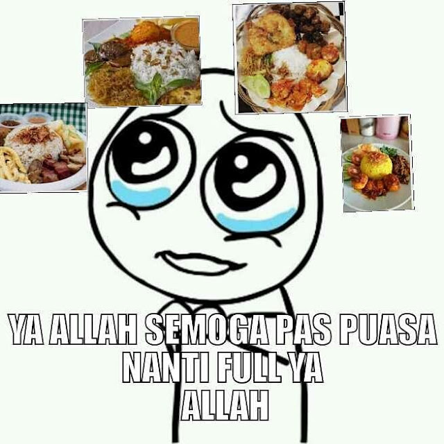 Meme Lucu Puasa Ramadhan