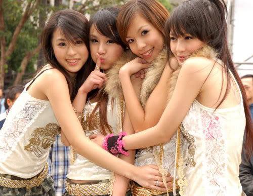 chicas putas lindas Taiwán