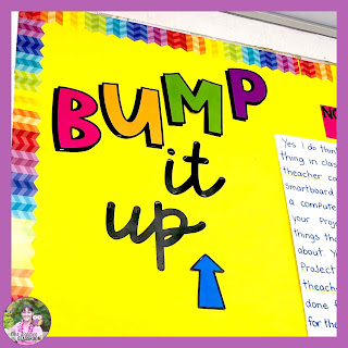 Photo of bump it up wall.