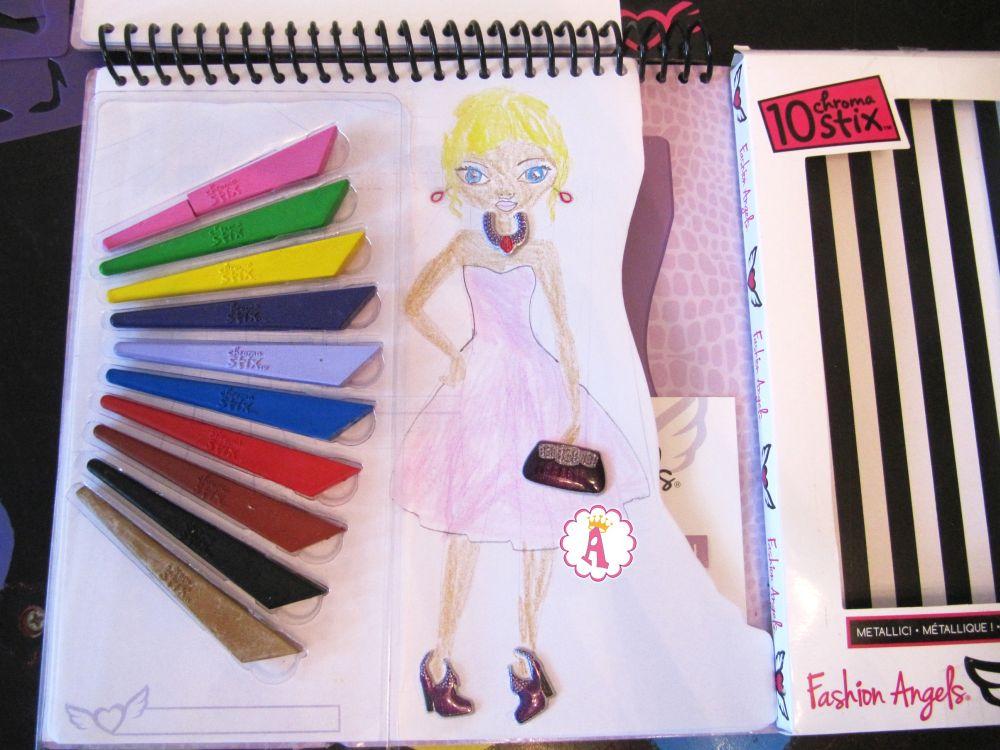 Творческие наборы девочкам дизайн одежды