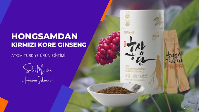 Hongsamdan %100 Kırmızı Kore Ginseng Granülü ve Faydaları