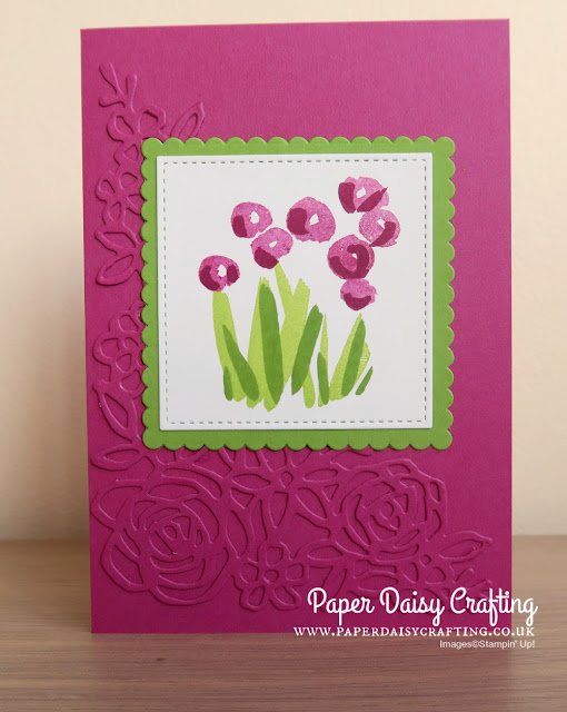 Abstract Springtime Impressions Stampin Up