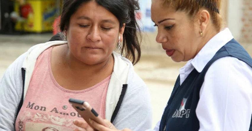 ONPE - DÓNDE VOTAR ESTE DOMINGO 7 OCTUBRE: Envía Gratis Mensaje Texto al 6673 con el número de tu DNI - Elecciones Regionales y Municipales 2018 - www.onpe.gob.pe