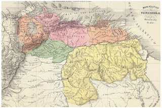 Mapa Político de Venezuela 1810