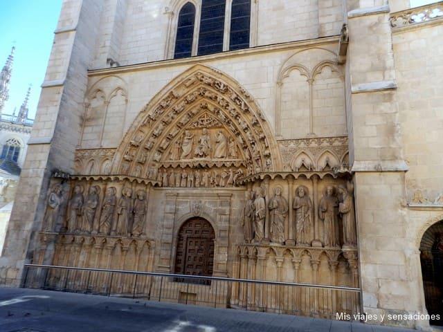 Puerta del la Coronería, Catedral de Burgos