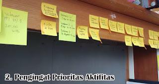 Pengingat Prioritas Aktifitas merupakan salah satu manfaat sticky note