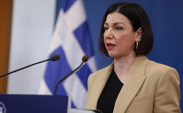 Πελώνη: Η κυβέρνηση συντάσσεται με το Κράτος Δικαίου, ο ΣΥΡΙΖΑ με ακραίες μειοψηφίες