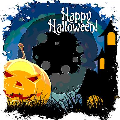 enmarcacion de  halloween