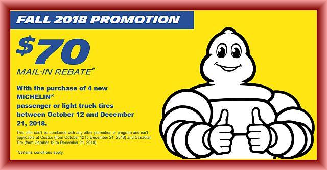 Michelin Tire Rebate Form 2018