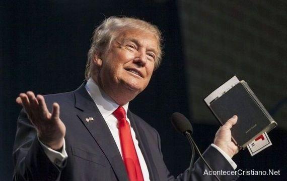 Gobierno de Donald Trump clama a Dios