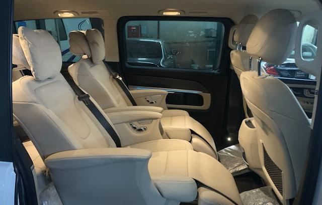 Đánh giá Mercedes V250 AMG 2021