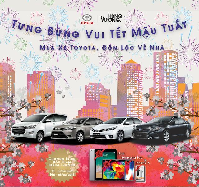 Toyota Hung Vuong uu dai vang dip cuoi nam