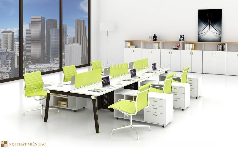 Thiết kế phòng làm việc với nội thất hiện đại