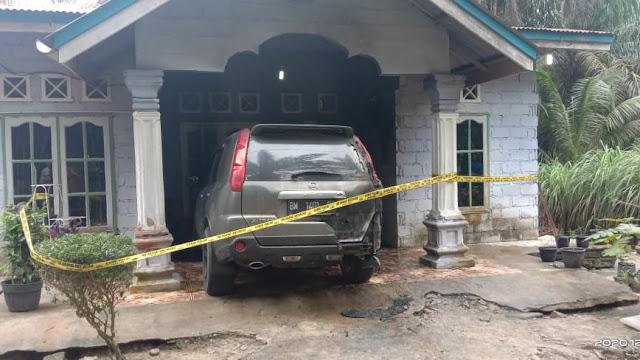 Rumah & Mobil Jurnalis di Kampar Dibom, Polda Riau Didesak Segera Ditangkap Pelaku