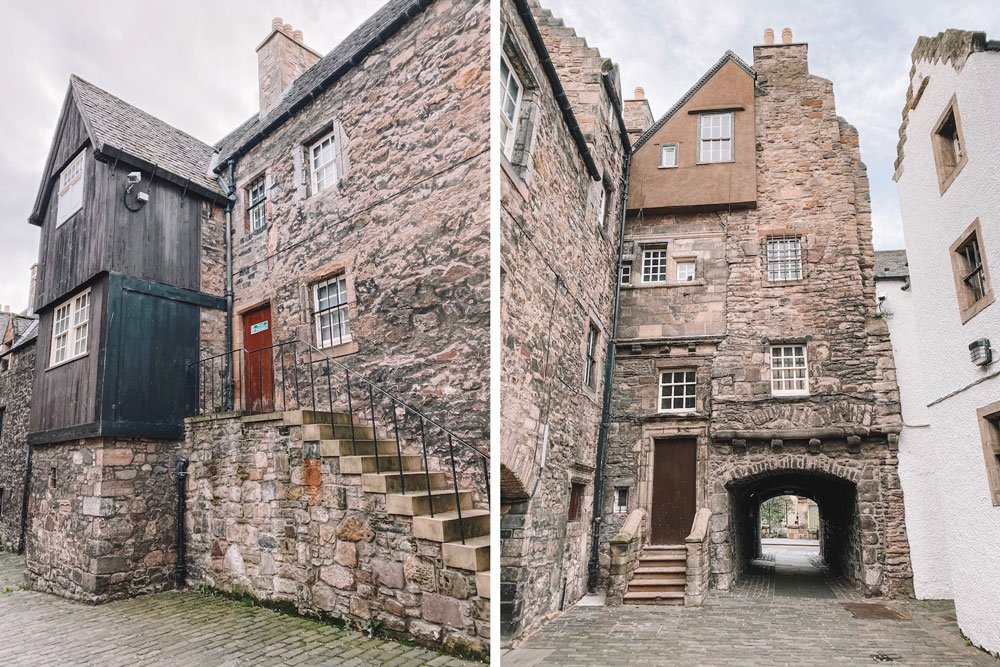travel blogger Amanda Martin visits outlander filming locations in Edinburgh