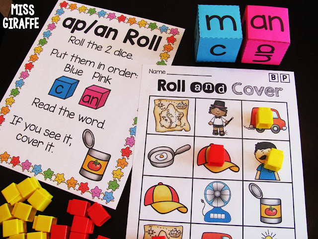 Word families short a games and ideas