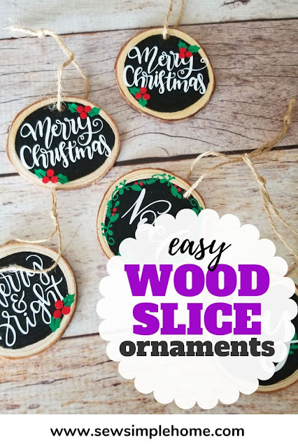 Create your own simple DIY wood ornaments with this easy project tutorial.