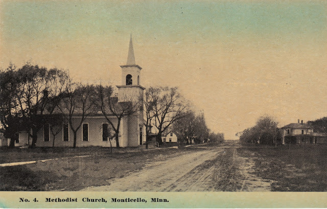 Monticello Minnesota Community United Methodist Church Original West 4th Street