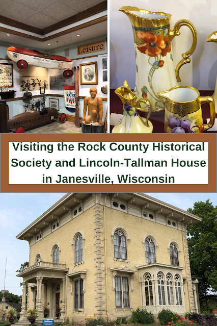 History Unfolds While Touring Lincoln-Tallman House and Rock County Historical Society
