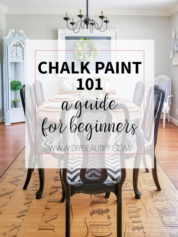 chalk paint guide for the beginner