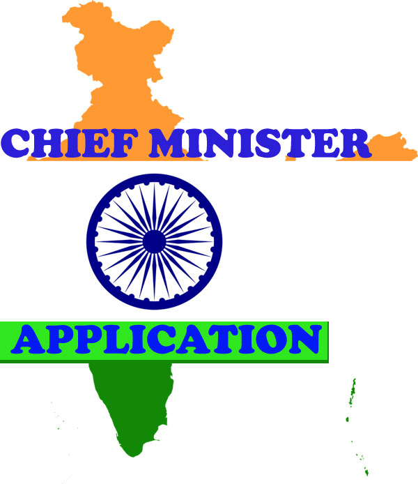 chief minister ko application