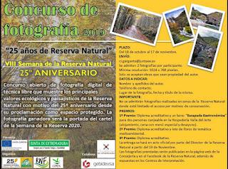 CONCURSO DE FOTOGRAFÍA VIII Semana de la Reserva Natural Garganta de los Infiernos