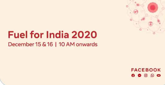 Fuel for India 2020 by Facebook
