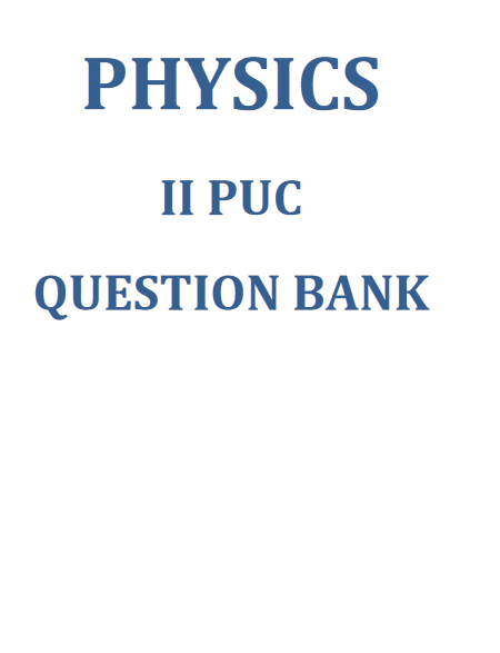 2nd puc previous year question papers with answers