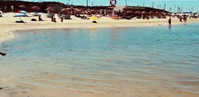 Chapéus de Sol para Praia dos Cinco Reis