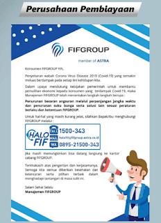 Sekalian untuk yang lainnya dalam bidang perusahaan pembiayaan seperti FIF, Mega Finance, AEON dll, untuk lebih lengkapnya bisa dilihat DISINI.
