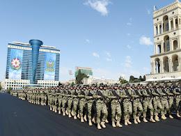 Qəhrəman hərbiçilərimizin arxasında güclü Azərbaycan dövləti dayanır