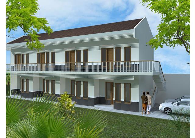Desain Rumah Kontrakan Ukuran 4x6