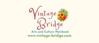 Vintage Bridget Arts and Culture Notebook by Bridget Eileen www.vintage-bridge.com Logo