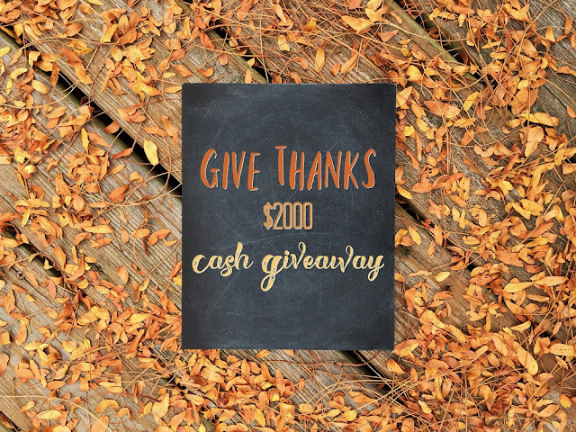 Thank you! Win cash just in time for thanksgiving. How would you spend it? #giveaway #cashgiveaway #internationalgiveaway #paypalgiveaway #thanksgiving #worldwidegiveaway #wincash #amazongiftcard #winmoney