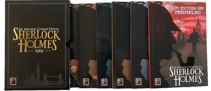 Box Livro Sherlock Homes