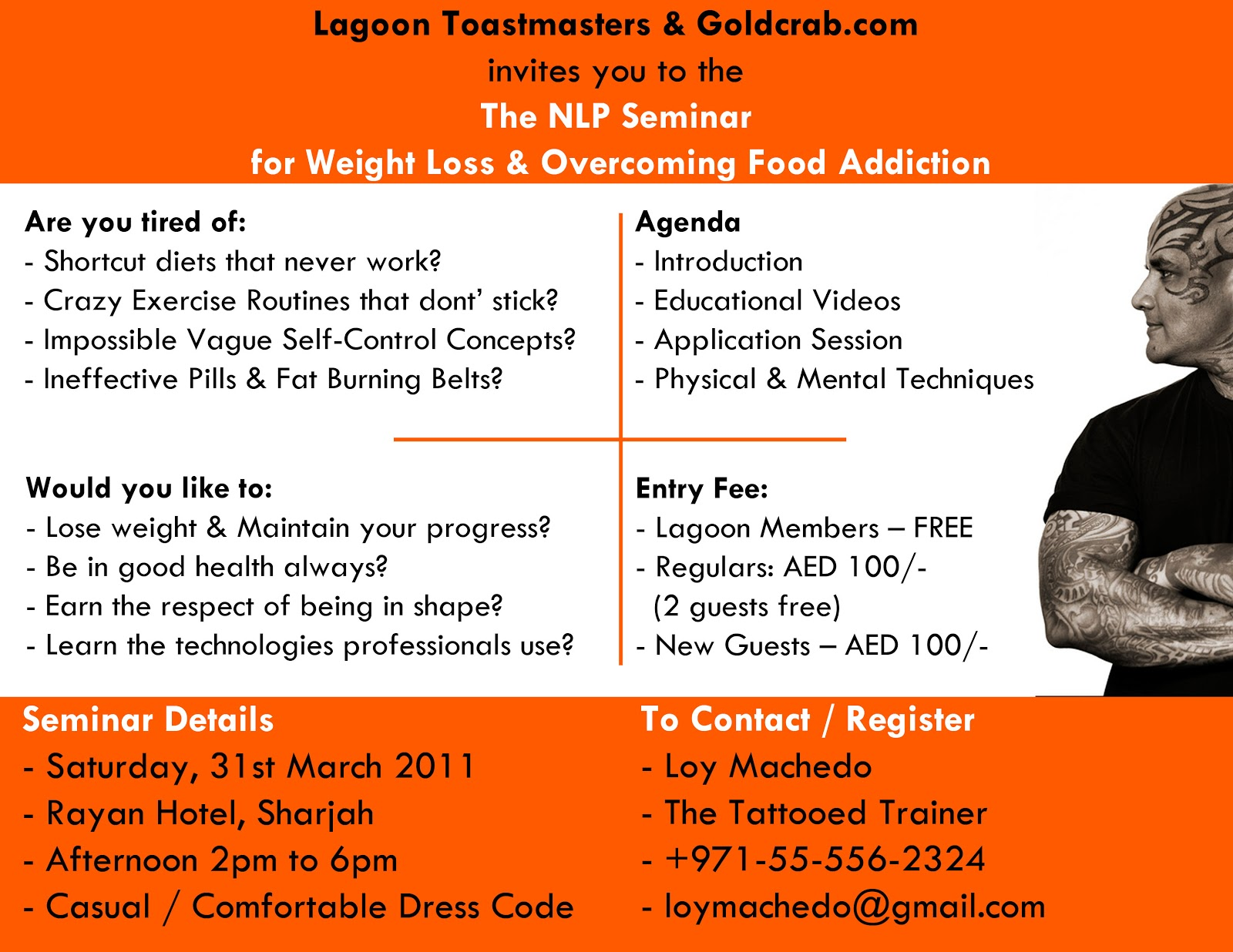 The NLP Seminar for Weight Loss & Overcoming Food ...
