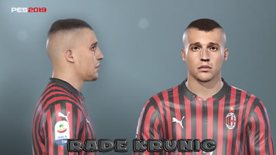 PES 2019 Faces Rade Krunić by Prince Hamiz