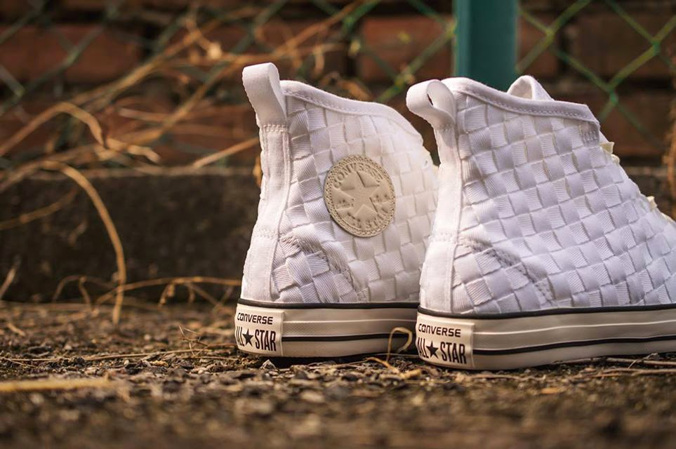 """b4730c3b512c Converse Chuck Taylor All Star Weave Hi-Low in White and Black Now  Available at CROSSOVER Flagship Store. 20 March 2015 Footwear. """"Chuck  """" Chuck  """" ..."""