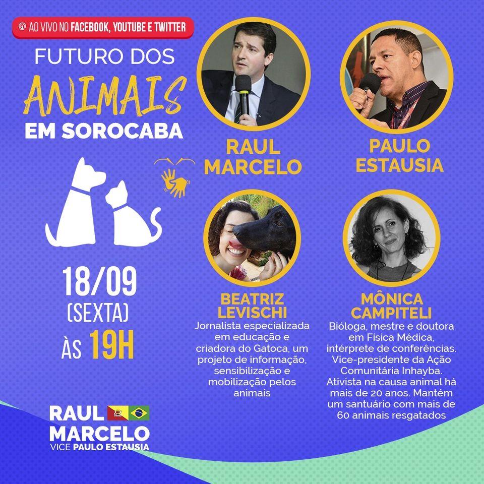 Live: Futuro dos Animais em Sorocaba
